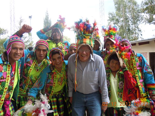 bolivian festive dress