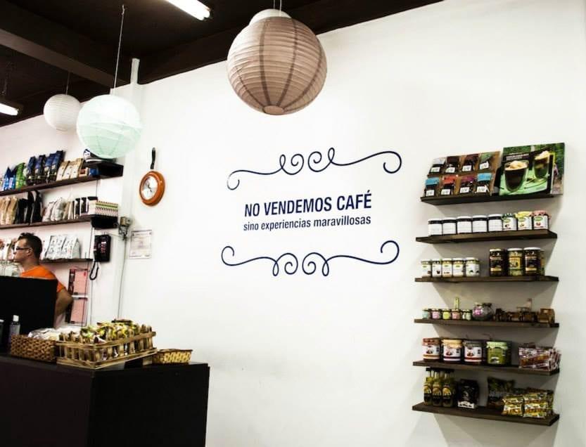 La Cafetera coffee shop interior