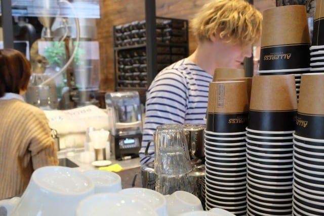 Allpress' espresso in tokyo