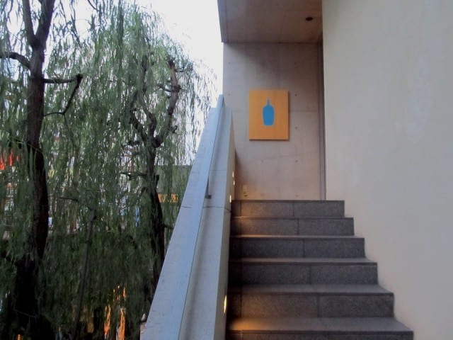Stairway to Blue Bottle Aoyama.