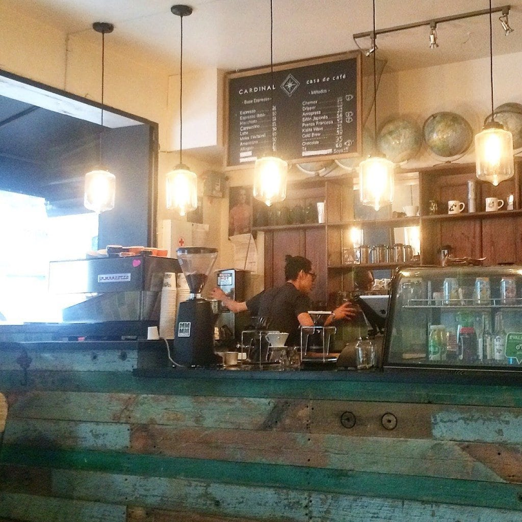 Casa cardinal coffee shop
