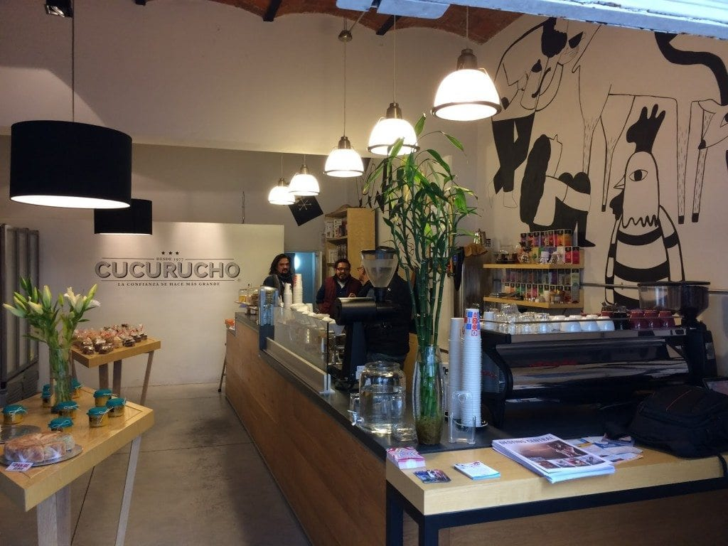 cucurucho coffee shop