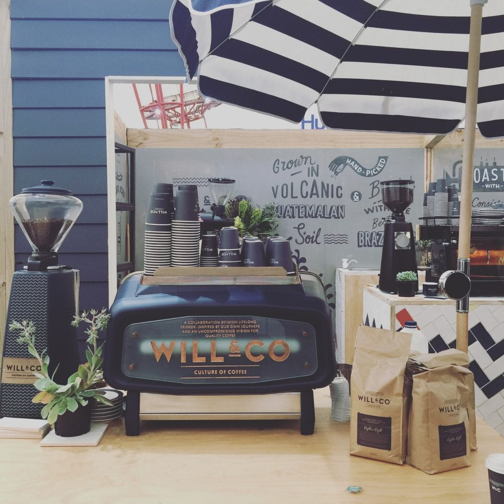 Will & Co coffee stand at mice 2016