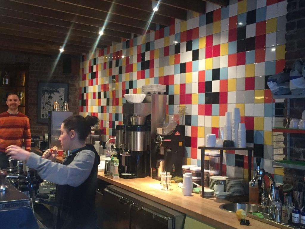 interior of Everyman Espresso.