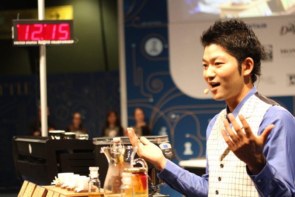 yoshi japan barista champion