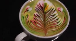 Rainbow Latte Art: 2 VIDEO Guides to 1 Very Colourful Training Technique