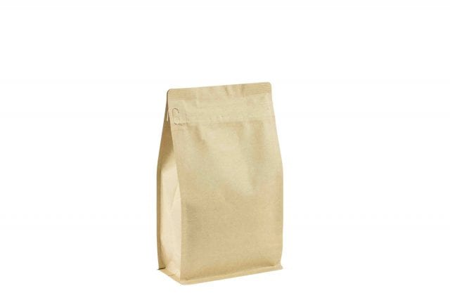 Pocket zipper coffee bag