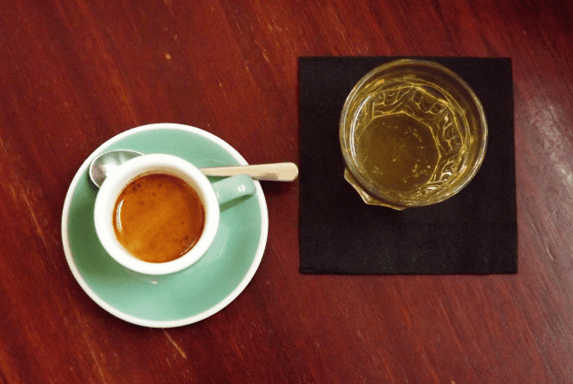 espresso with soda