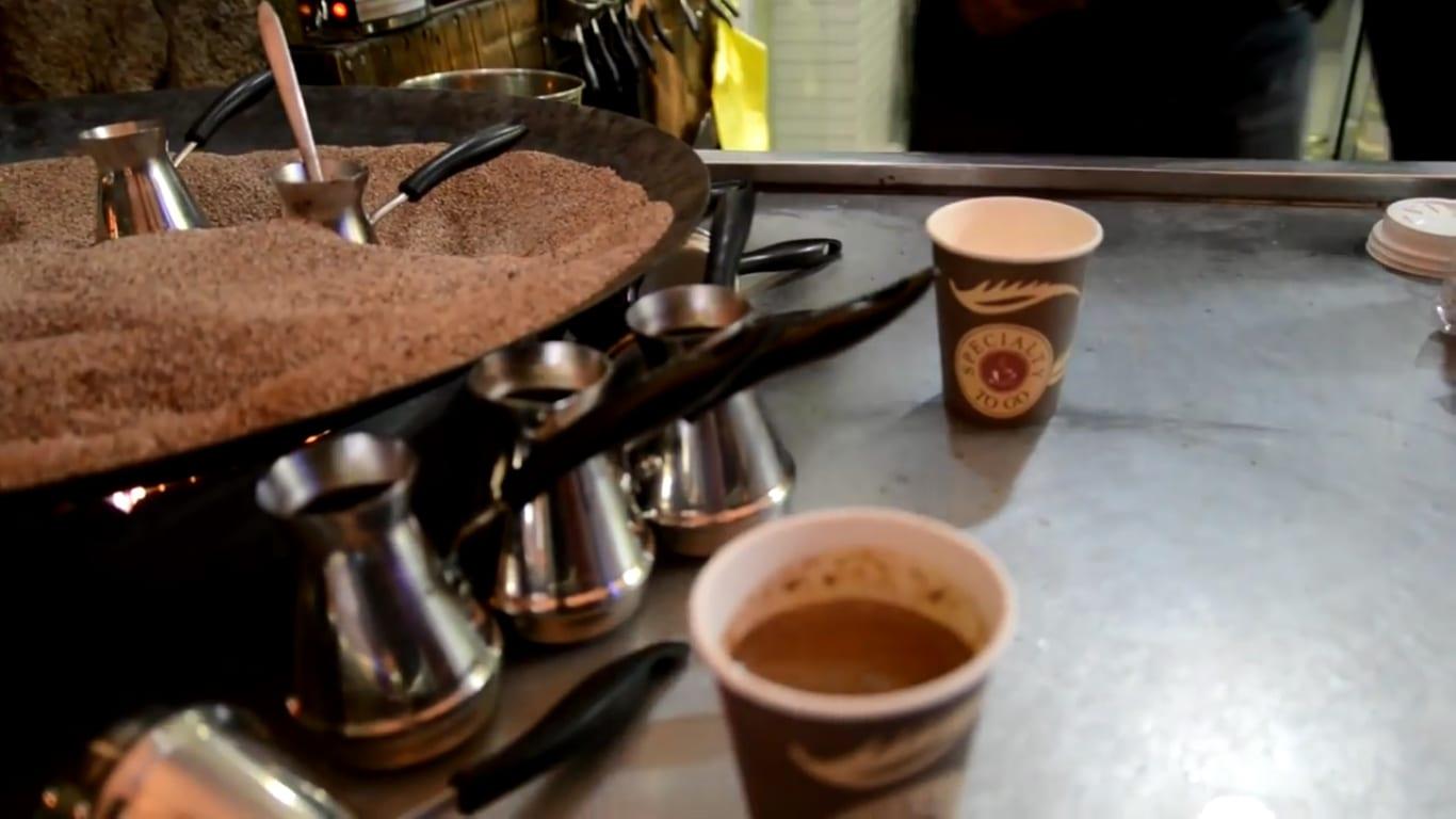 turkish coffee sand machine