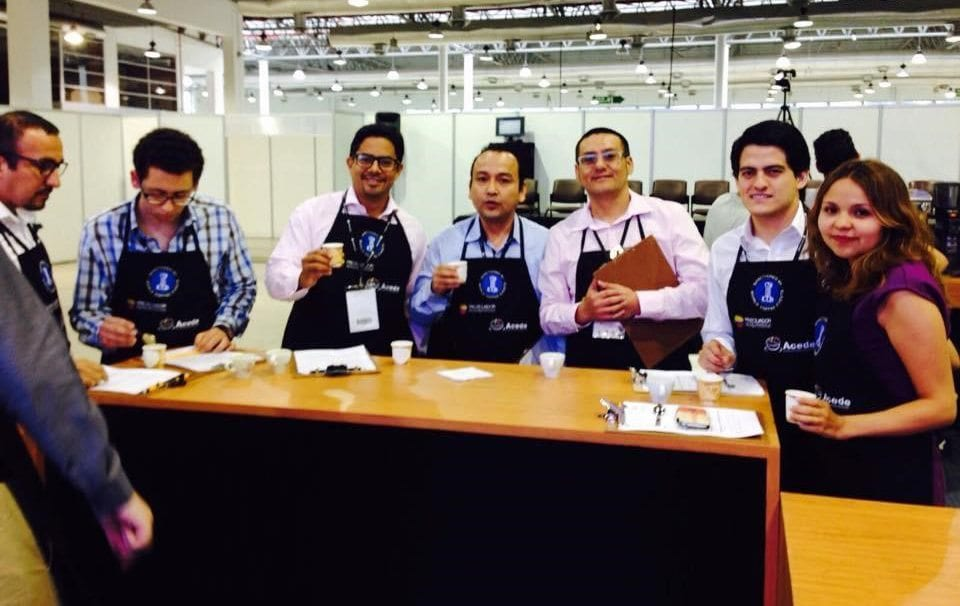 Ecuadorian coffee professionals