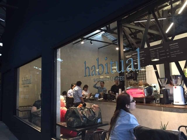 Habitual specialty coffee