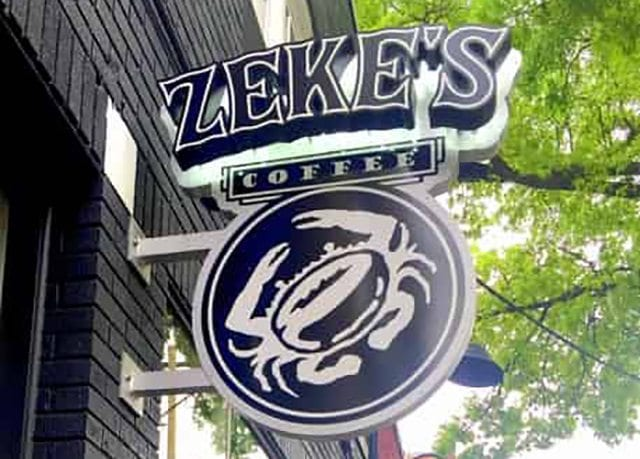 Zeke's Coffee logo