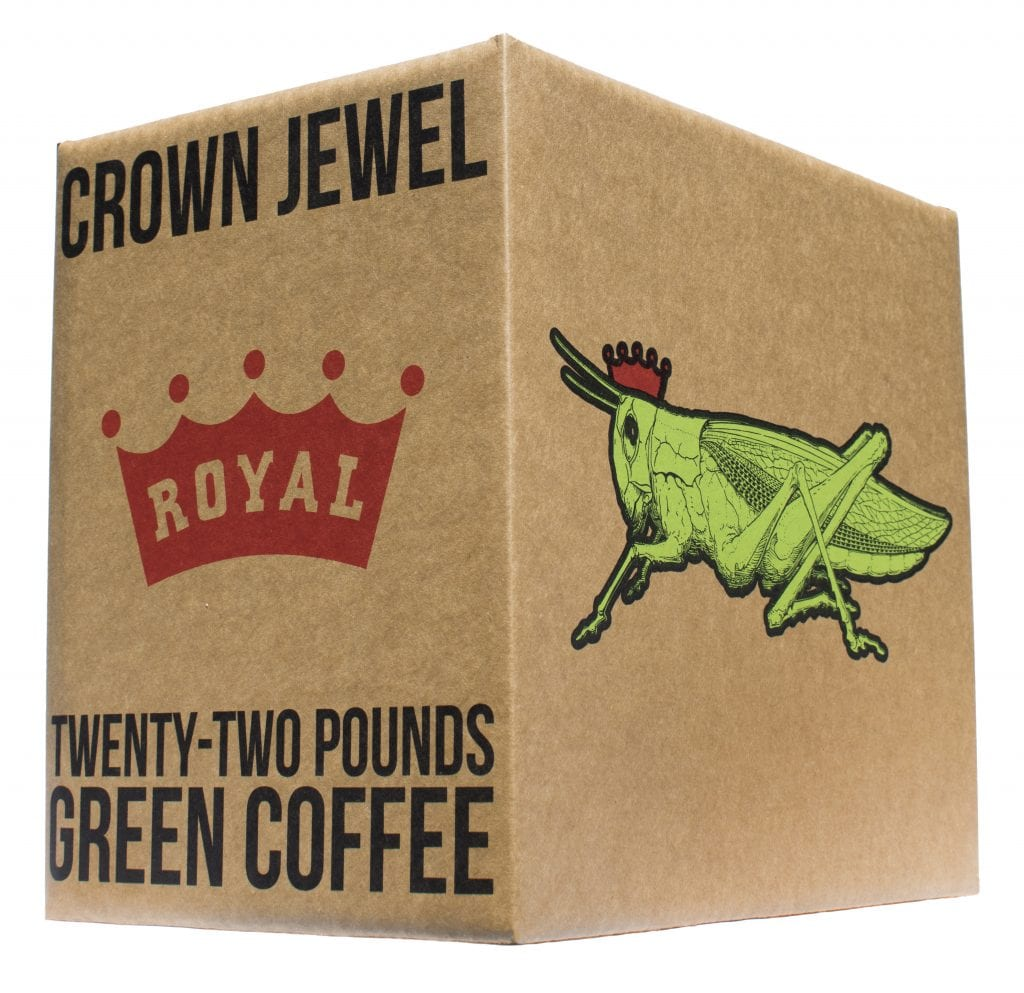 Royal Coffee's Crown Jewels box