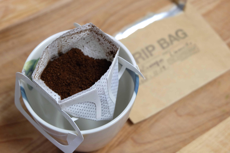 cafe en filtro