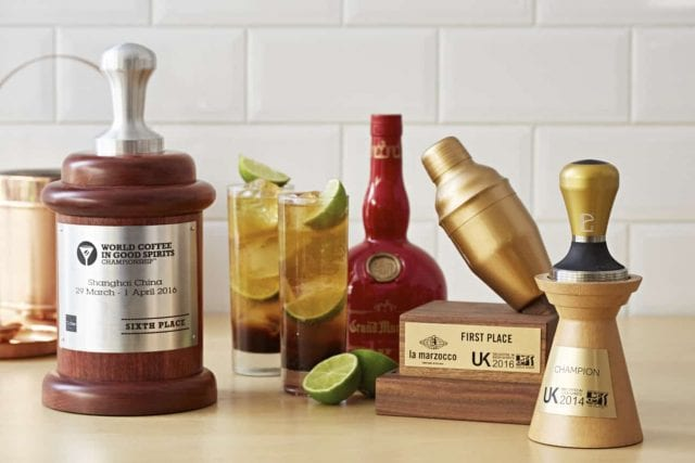 coffee competition trophies