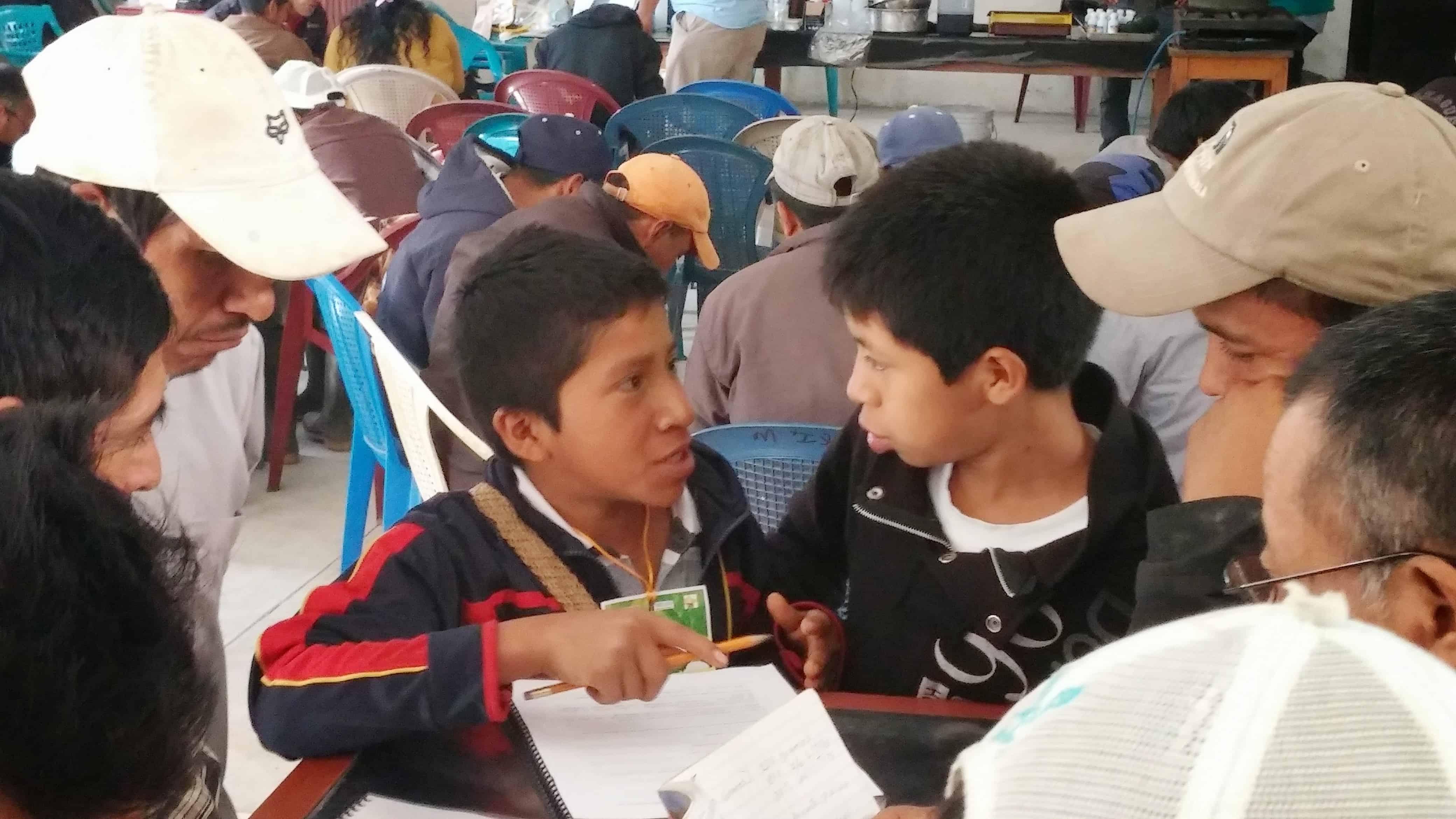 taller de Maya Ixil