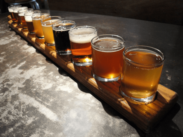 Craft beer and nitro cold brew