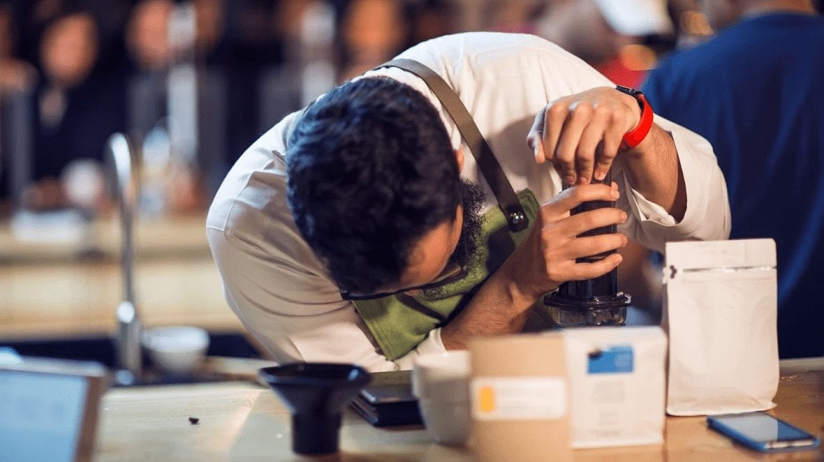 What Does It Take to Become Saudi's 1st AeroPress Champion?