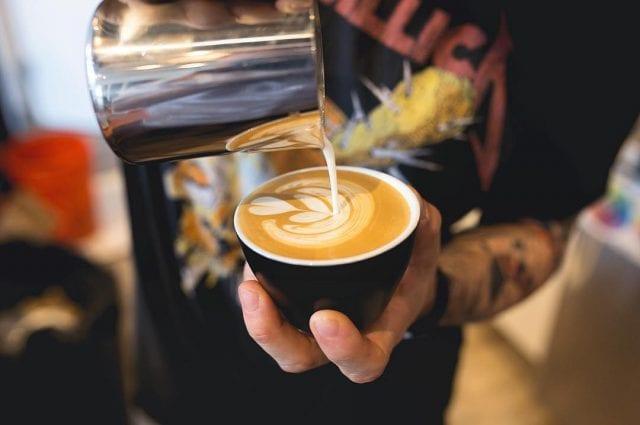 Nate Wood Latte Art