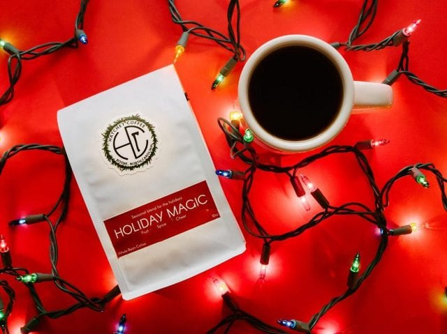 hatchet coffee holiday blend