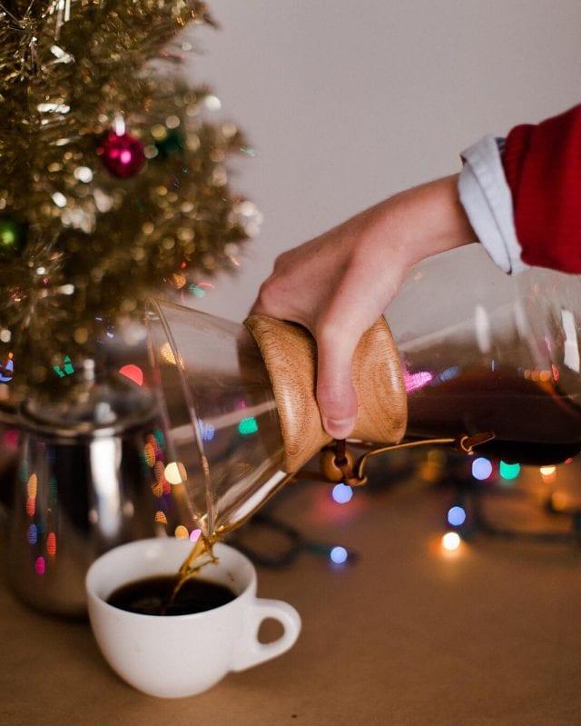 Christmas chemex