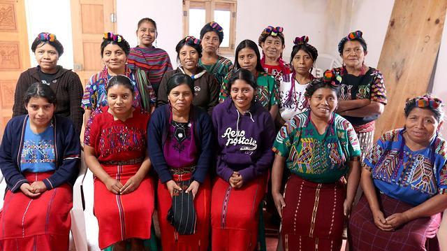 Mujeres de Ixil