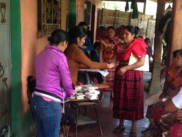 women microcredit program