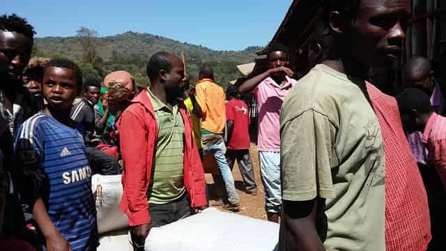 productores de cafe en Africa