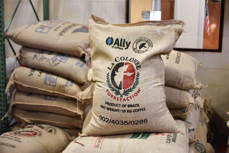 cafés de Primavera Fazenda rumbo a La Colombe