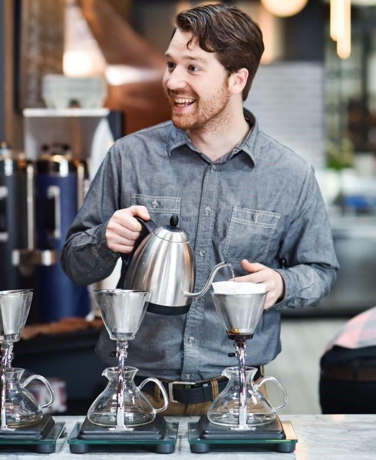 competencia de cafe de filtro