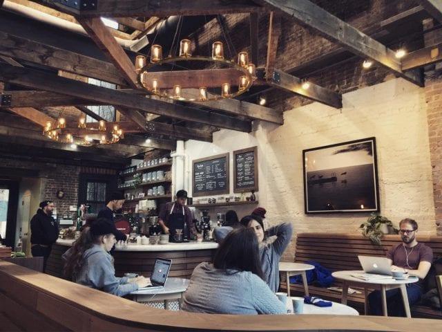 long island cafes