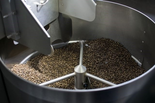maquina de tueste de cafe