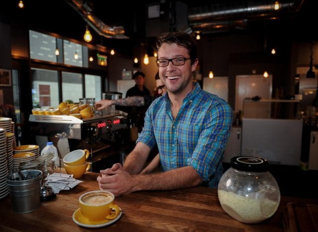 Spencer Bowman, Owner & Founder of Mettricks Tea & Coffee