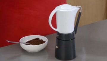 Introducing The Porcellana: 1 Innovative Take on The Moka Pot