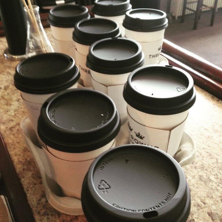 vasos de carton para cafe
