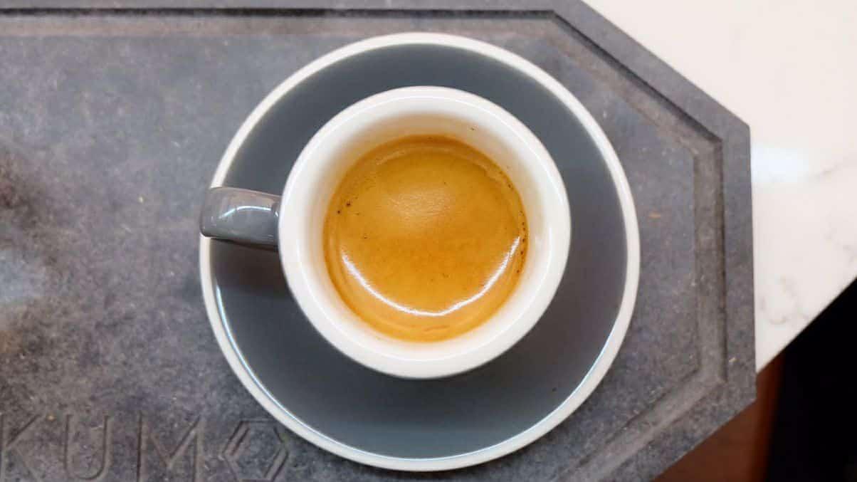 shot de espresso