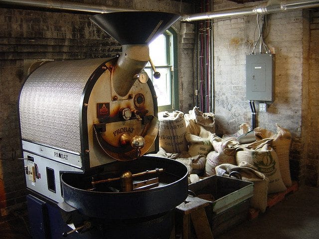 Coffee roastery