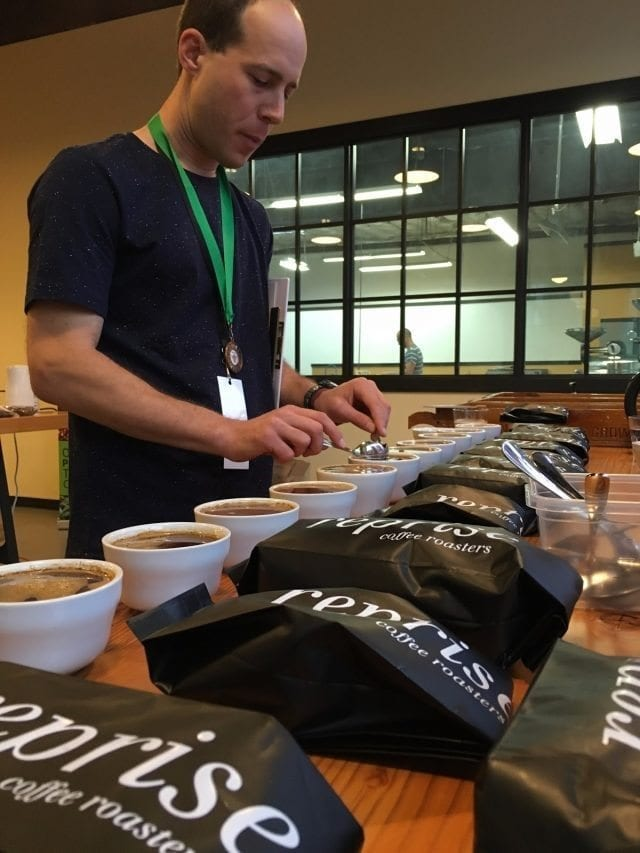 ben de gold mountain coffee catando cafe