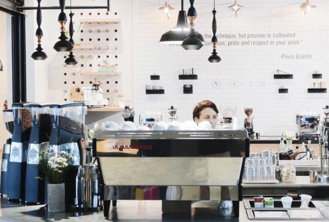 cafeteria de especialidad