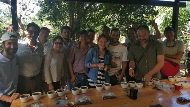 sesion de cata de cafes naturales