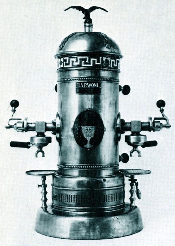 maquina de espresso la pavoni