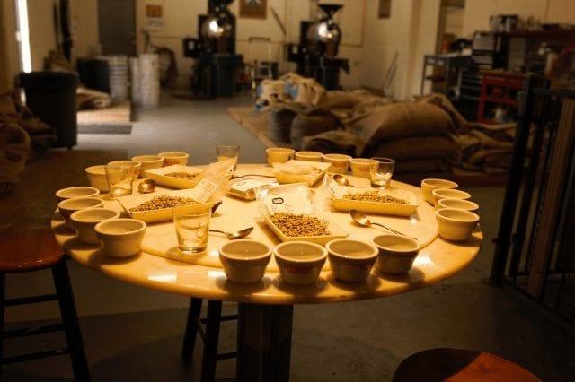 mesa de catacion