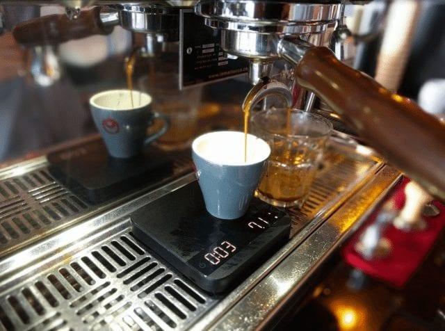 doble shot de espresso