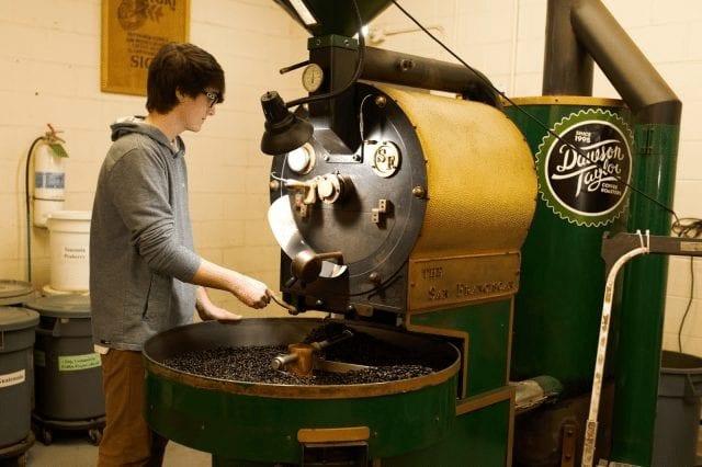 aprendiendo a tostar cafe