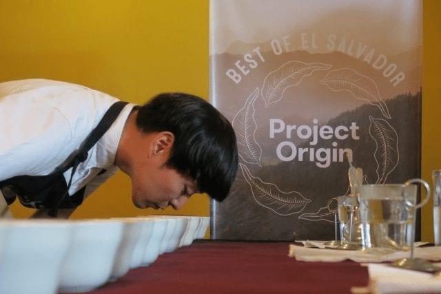 catacion de cafe en project origin
