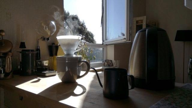 elaboracion de cafe en casa