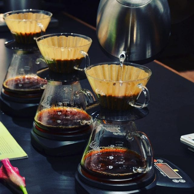 Specialty Coffee Being Brewed For Consumers In Saudi Arabia Credit Elixir Bunn