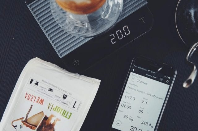preparacion de cafe en casa