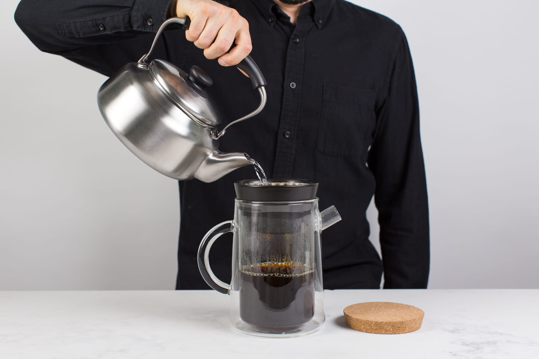 Coffee Maker Kickstarter : The Coffee Brewer That Allows You to Choose Between Pour Over, French Press, & Cold Brew ...