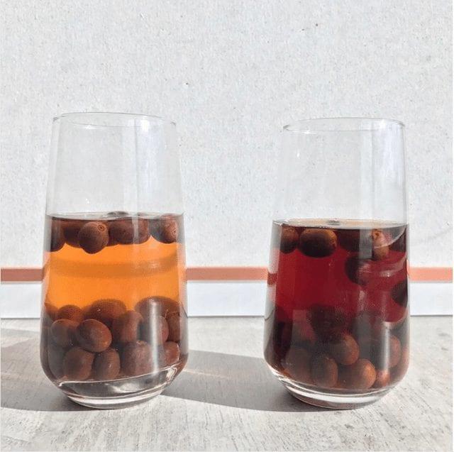 cerezas de cafe en fermentacion